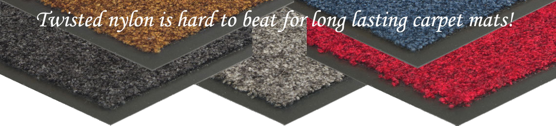 Nylon Twist Vinyl-Backed Entrance Matting
