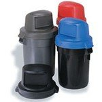 Huskee Trash Can Receptacle Lids