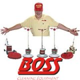 BOSS Equipment Rotary Buffer, Scrubber, & Burnisher Floor Machines