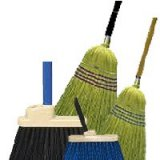 Upright Stick Brooms