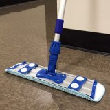 "17"" MARKO Microfiber Dust Mop Kit (INCLUDES Frame, Adjustable Handle, 2 Microfiber Mop Refills)"