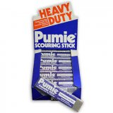 Pumie Brand Pumice Stone Scouring Stick Toilet Bowl Ring Remover