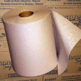 "8"" Brown Roll Hand Towels (12 rolls/600' per roll)"