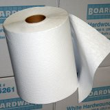 "8"" White Roll Hand Towel (600' per roll, 12 rolls)"