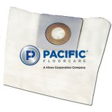Pacific Floorcare WAV-26 Vacuum Paper Filter Bags (Pack of 10 bags)