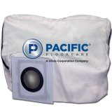 PACIFIC Cloth Shake-out Bag for Model WAV-26 Upright Wide Area Vacuum