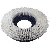 "10"" Nylon Rotary General Scrub Brush (STIFF .030 Fiber)"