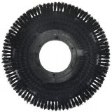 "13"" Nylon General Rotary Scrub Brush (SOFT .020 or STIFF .030 Fiber)"