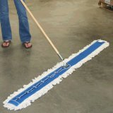"72"" x  3-1/4"" Looped Cotton Dust Mop Unit (Head, handle, frame)"