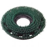 "12"" Medium Heavy Duty Rotary Scrub Brush (120 Grit)"
