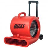 BOSS Blower Fan 3-Speed 120V 1/2 HP with Handle and Wheels B001544