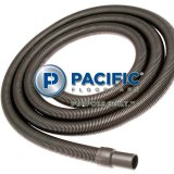Pacific Floorcare Extractor 15 Foot Vacuum Hose F213W2 with End Caps