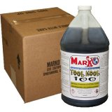 Marko TOOL KOOL 100 Synthetic Premium Cutting Fluid Concentrate (4 GALLON CASE)