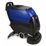 PACIFIC S-24XM disk scrubber, 155AH lead acid batteries, on-board charger & pad drivers