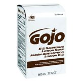 GOJO 9132 IHC Food Industry Sanitizing Soap 800 mL Bag In Box