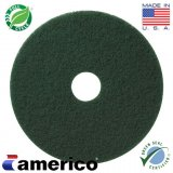 "17"" Marko Americo Green Heavy Duty Scrubbing Pad (CASE OF 5)"