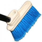 "6"" Lobby Dust Pan Broom with Soft Flagged Bristles"