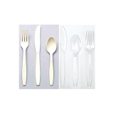 Heavy Weight Plastic Tableware Utensils (Knives, Forks, Spoons, 1000/Case)