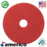 "20"" Marko Americo Red Spray Buffing Pads (CASE OF 5)"