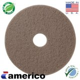 "20"" Marko Americo Tan Polish Buffing Pads (CASE OF 5)"
