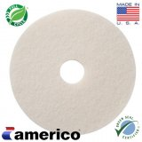 "20"" Marko Americo White Super Fine Polish Buffing Pads (CASE OF 5)"
