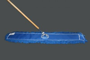 "48"" x 5"" Dust Mop Unit With Electrostatic Nylon Head (Head, handle, frame)"