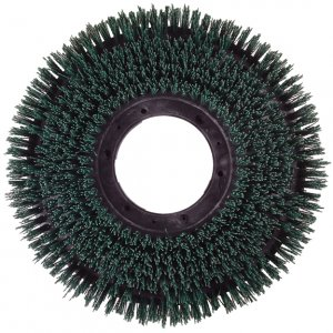 "11"" Medium Heavy Duty Rotary Scrub Brush (120 Grit)"