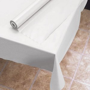 "Plastic Roll Table Cover (40"" x 300')"